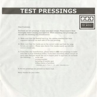 Testpressing#007: Rathe / Patchwork