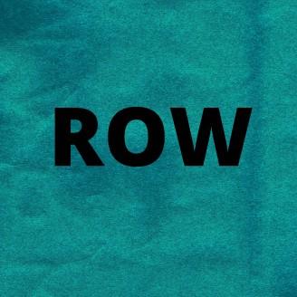 Album artwork for ROW