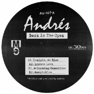 Album artwork for Back In The Open