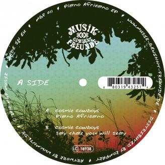 Album artwork for Piano Africano EP