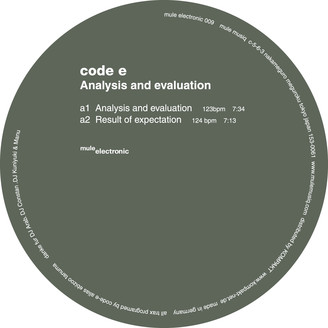 Album artwork for Analysis And Evaluation Ep