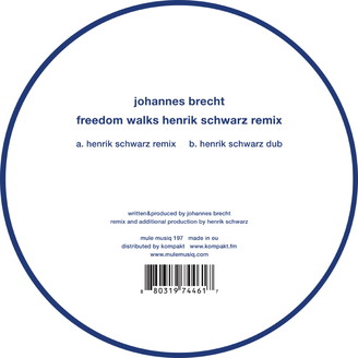 Freedom Walks - Henrik Schwarz Remix