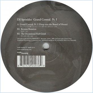 Album artwork for Grand Central Pt.1