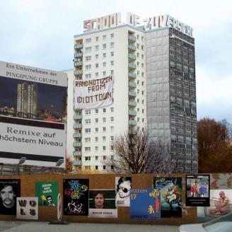Album artwork for Neubaugebiet - Remixe From Idiot Town