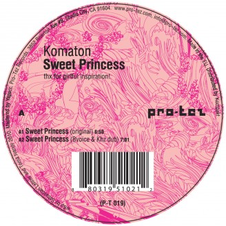 Album artwork for Sweet Princess EP