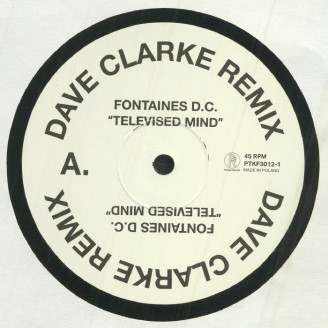 Album artwork for Televised Mind (Dave Clarke Remix)
