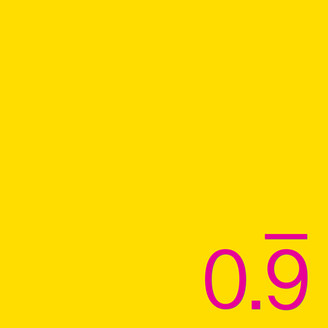 Album artwork for 0.9