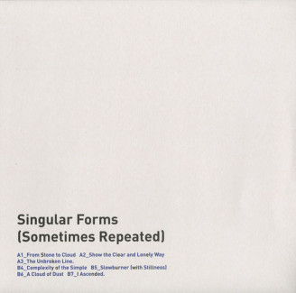 Album artwork for Singular Forms (Sometimes Repeated)