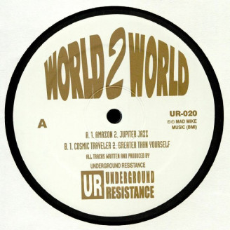 Album artwork for World 2 World