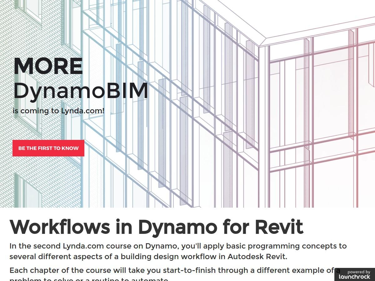 DynamoBIM - Visual Programming for Revit   Lynda com