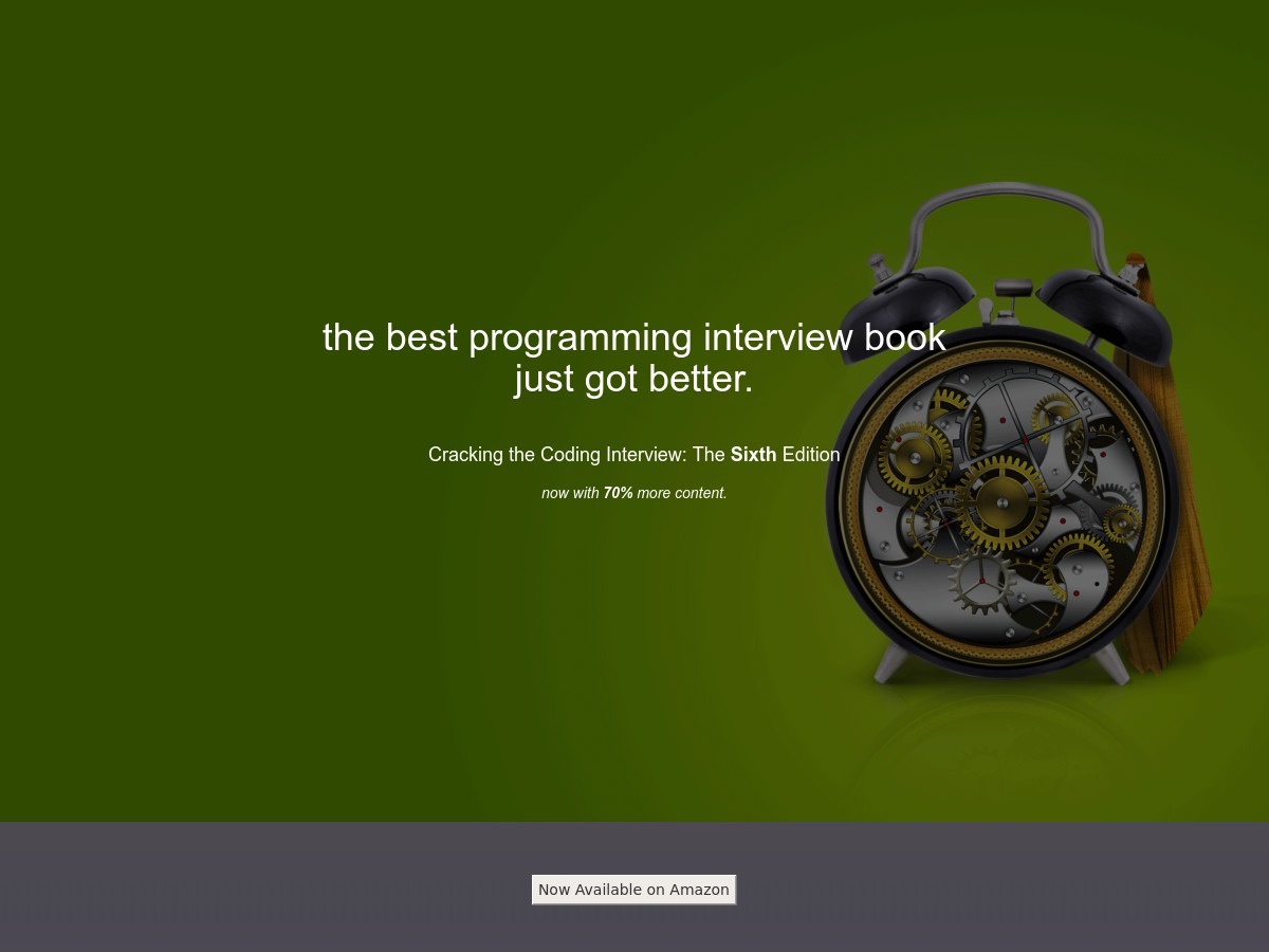 Image Result For Cracking Coding Interview Th Pdf
