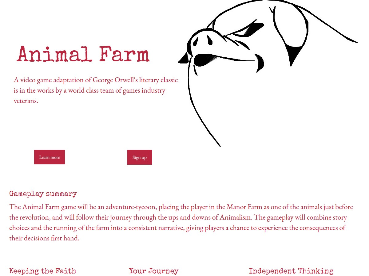 literary analysis of the novel the animal farm by george orwell George orwell's animal farm combines animal fable with political satire targeting stalinist russia john sutherland describes the novel's genesis, its struggle to find a publisher, and its eventual success.