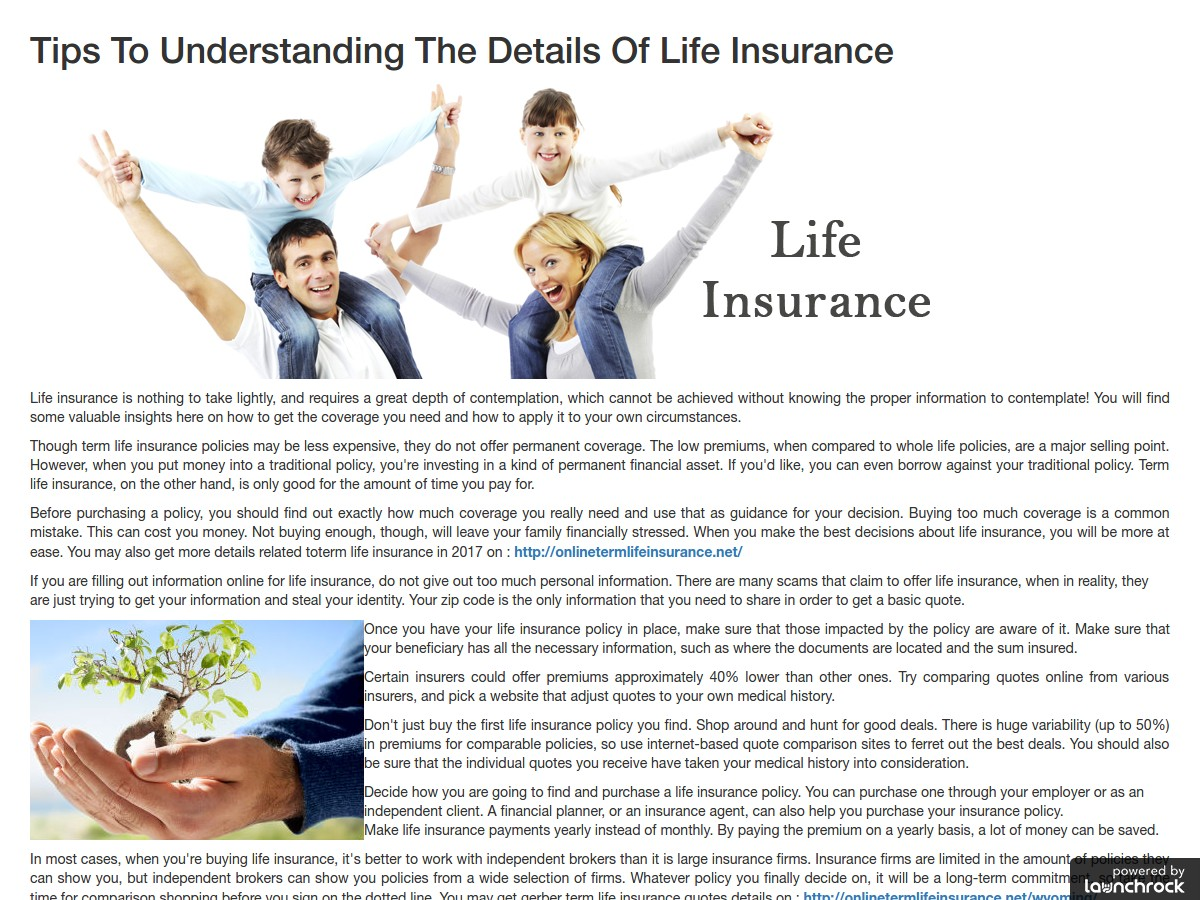 Individual Life Insurance Quotes Best Term Life Insurance Companies