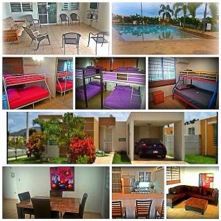 Vacacional para renta alquiler en cabo rojo bienes for Casas con piscina para alquilar en puerto rico