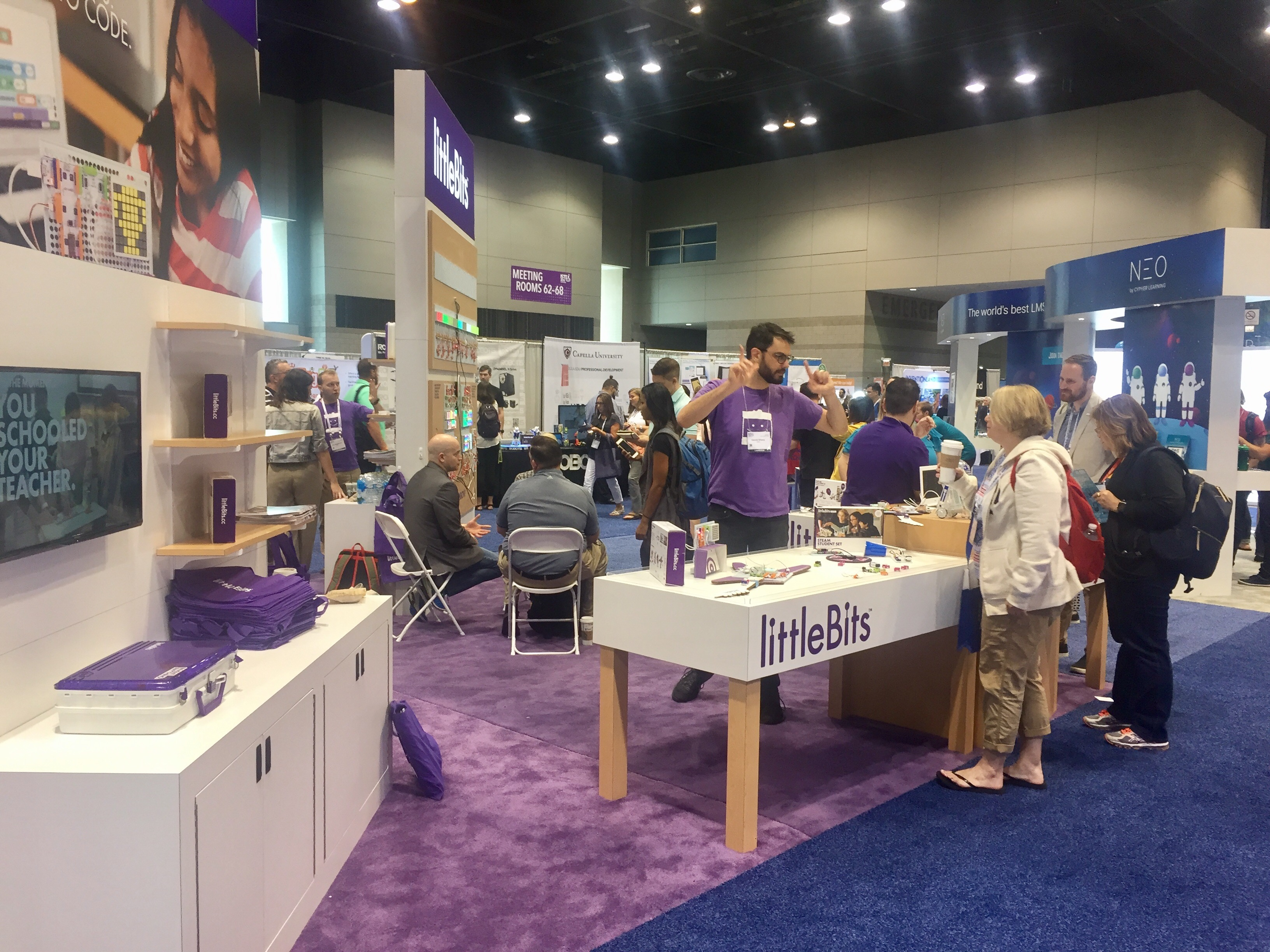 ISTE Chicago, littleBits, educators