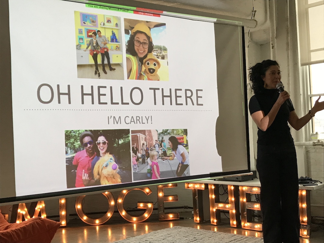 Carly Ciarrocchi, littleBits