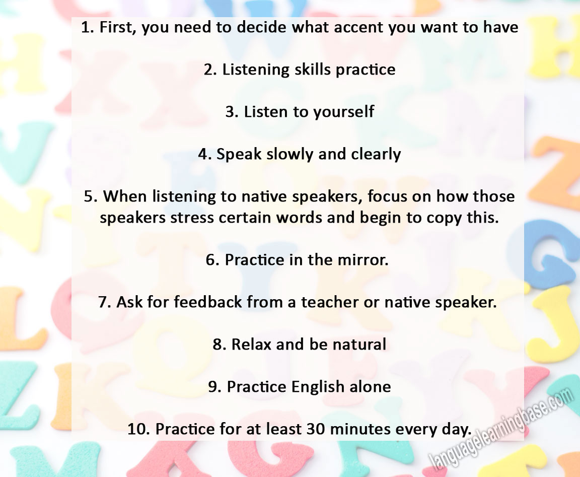 How to Greatly Improve Your English Pronunciation in 11 Steps