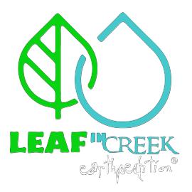 Leaf in Creek