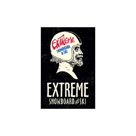 Extreme Snowboard and Ski