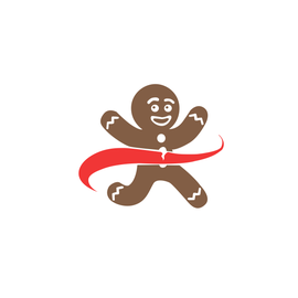 Gingerbread Man Running Company