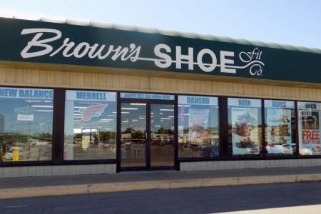 Brown's Shoe Fit Burlington