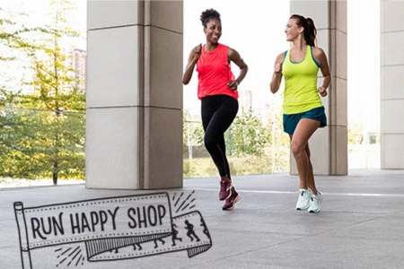 Women's Run Happy Shop
