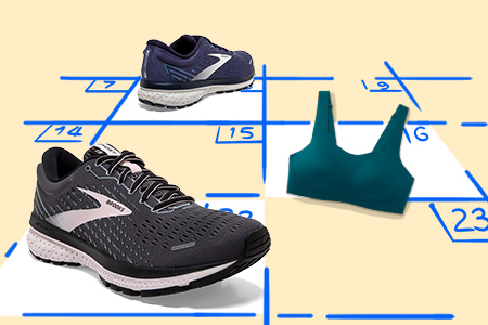 Schedule a Brooks shoe or run bra fitting