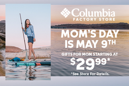 Mother's Day at Columbia Sportswear