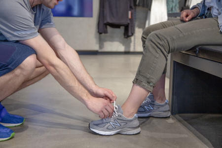 Get fitted for the perfect shoe for you!
