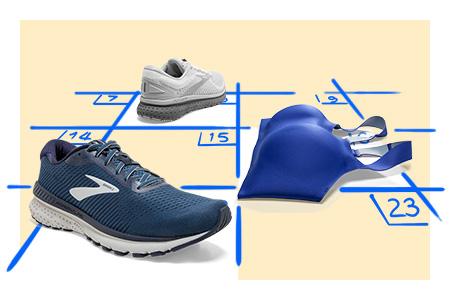 Schedule a Brooks shoe or run bra fitting