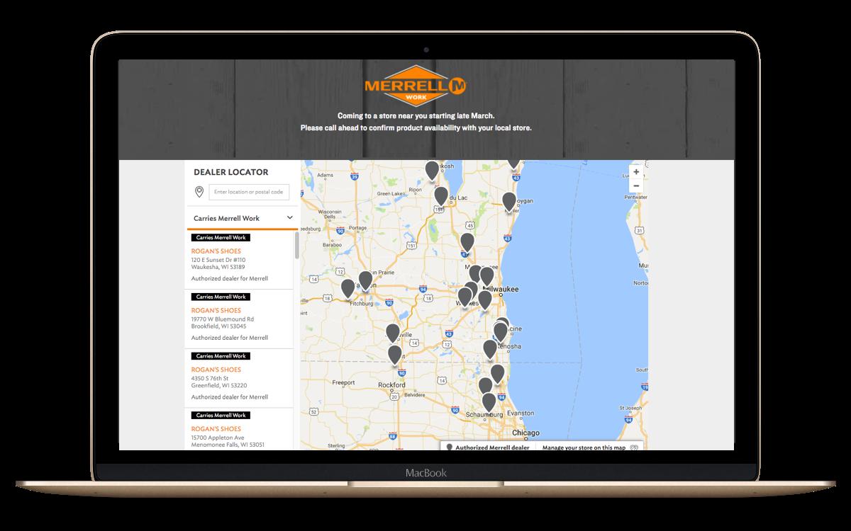 Pre-filtered Store Locators
