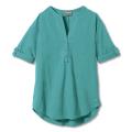 Turquoise - Royal Robbins - Women's Oasis Tunic Ii 3/4 Sleeve