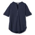 Navy - Royal Robbins - Women's Oasis Tunic Ii 3/4 Sleeve