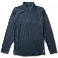 Ink Heather - Vuori - Men's Ease Performance 1/2 Zip