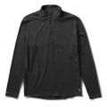 Charcoal Heather - Vuori - Men's Ease Performance 1/2 Zip