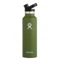 Olive - Hydro Flask - 21 oz  Standard Mouth w/ Sport Cap