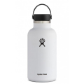 White - Hydro Flask - 64 oz Wide Mouth