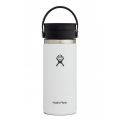 White - Hydro Flask - 16 oz Coffee Wide Mouth w Flex Sip Lid