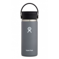 Stone - Hydro Flask - 16 oz Coffee Wide Mouth w Flex Sip Lid