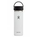 White - Hydro Flask - 20 oz Coffee Wide Mouth w Flex Sip Lid