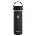 Black - Hydro Flask - 20 oz Coffee Wide Mouth w Flex Sip Lid