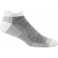 White/Gray - Darn Tough - Men's Merino Wool No-Show Ultra-Light Cushion