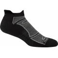 Black/Gray - Darn Tough - Men's Merino Wool No-Show Ultra-Light Cushion