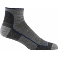Charcoal - Darn Tough - Men's Merino Wool 1/4 Sock Ultra-Light