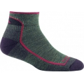 Moss Heather - Darn Tough - Women's Hiker 1/4 Sock Cushion