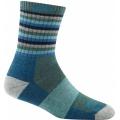 Aqua Stripe - Darn Tough - Women's Stripes Micro Crew Sock Cushion