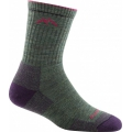 Moss Heather - Darn Tough - Women's Hiker Micro Crew Sock Cushion