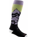 Lime - Darn Tough - Women's Yeti Over-the-Calf Cushion
