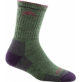 Moss Heather - Darn Tough - Women's Coolmax Micro Crew Sock Cushion