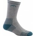 Gray/Teal - Darn Tough - Women's Coolmax Micro Crew Sock Cushion